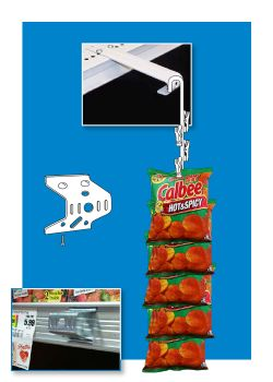 Metal Clip Strip Hanging Accessories