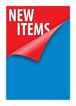 New Items | Clip Strip - Retail & Point of Purchase Display Materials