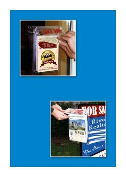 Outdoor Literature & Brochure Holders, Clip Strip Corp.