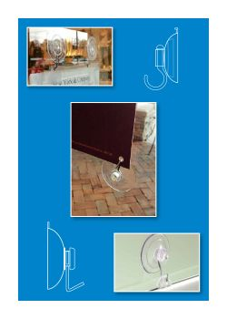 suction cups as sign holders for windows