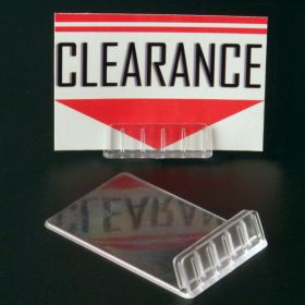 Angled Countertop Displays - Sign / Card Holder | Clip Strip, ACH-2