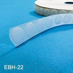 "Hook & Loop Fastener Buttons, 7/8"" diameter, EBH-22, EBL-22"