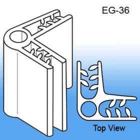 Grip-Tite™ 2-Way 90° Panel Connector or Sign Holder, EG-36