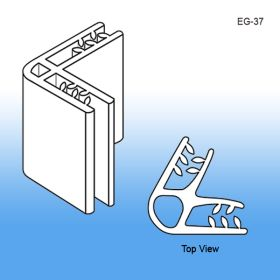 Grip-Tite™ 2-Way 60° Panel Connector/Sign Holder, EG-37