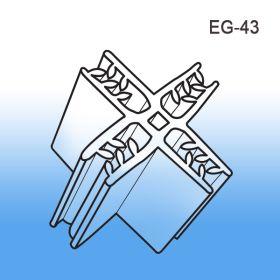 Grip-Tite 4 Direction Retail Corrugated Display Panel Former (90°), EG-43