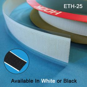 "Hook & Loop Fastener Tape, 1"" wide, ETH-25, ETL-25"
