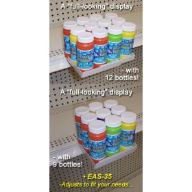 Extended Shelf Merchandise Display | Clip Strip - Product Merchandising, EAS-35