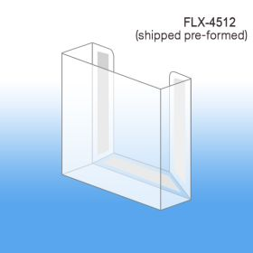 Pre-Formed Peel & Stick Literature Holder, FLBX-4512