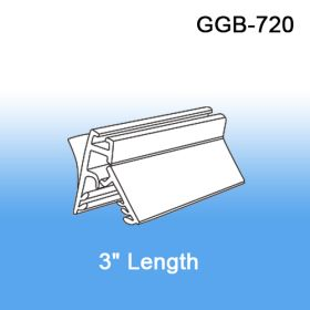 """3"""" Galactic Grip-Tite™ Banner/Sign Holder w/ Adhesive, Wall Mount, GGB-720"""