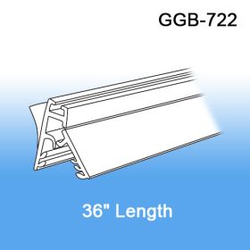 """36"""" Galactic Wall Mount Gripper Banner/Sign Holder w/ Adhesive, GGB-722"""