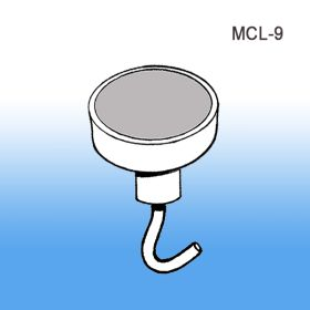 "1"" Magnetic Ceiling Hook, MCL-9, Sign Holder"