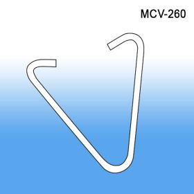 Metal V Grid Clip | Ceiling Sign Hanging Accessories, MCV-260