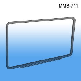 "Metal Sign Frame with Magnetic Base, 11"" Wide x 7"" High, MMS-711"
