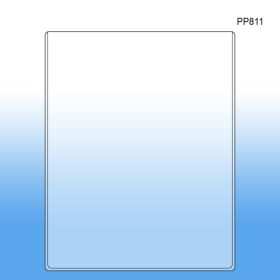"""8 ½"""" x 11"""" Sign Holder & Print Protector, PP811"""
