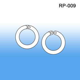 Round Ring Plastic Split Rings - Wholesale & Bulk, RP-009/010