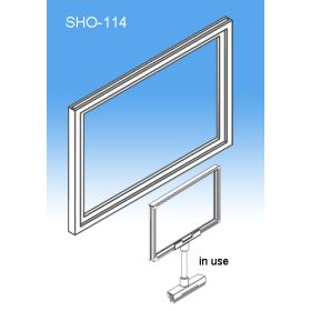 """Sign Frame System Components - Display Signs, 11"""" x 14"""", SHO-114"""