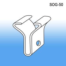 Snap on Ceiling Grid Clip - Hanging Sign Holder, SOG-50