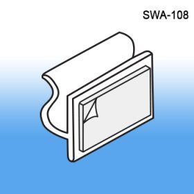 Slatwall Adapter Clip for Signage, SWA-108