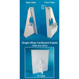 "32 point Cardboard Easel Wing, 5"", BEB-1234W"