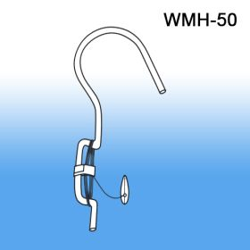 Wire Ceiling Sign Holder Hook Metal Hanger, WMH 50