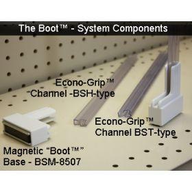 Sign Holder Channels for Magnetic Boot System, BSM-513