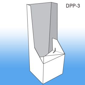 Corrugated Base for Power Panel Floor display, DPP-3