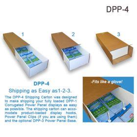 Shipping Carton for Corrugated Power Panels, DPP-4