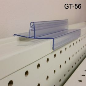 grip-tite sign holder, no adhesive for gondola, GT-56