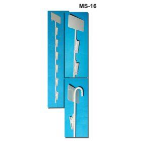 Metal Merchandising Clip Strip, MS-16