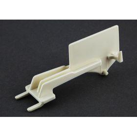 Double Clip Strip Hanger - Plastic, PLSH-777