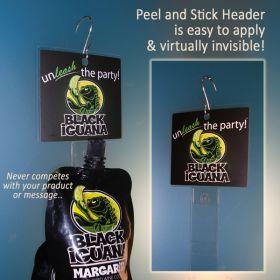 Peel N' Stick Clip Strip Header, PNSH-001
