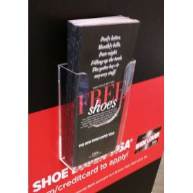 "wall literature holder for 4"" x 9"" sheets, w-104"