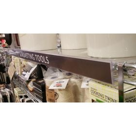 long wire shelf display price channel sign holder adapter, WR-1244