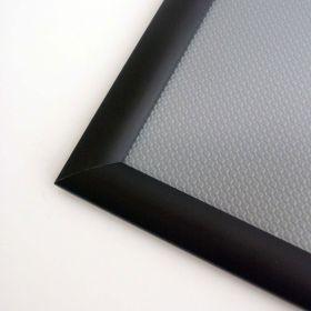 1.25 corner picture of black snap frame