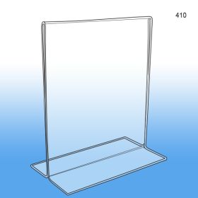 Bottom Loading Acrylic Sign Holder 8 1/2 x 11, 410