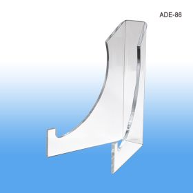 8 inch high acrylic display easel, ADE-86