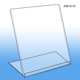 "8 ½"" W x 11"" H Slanted Style Easel Sign Holder, ASE-8118"