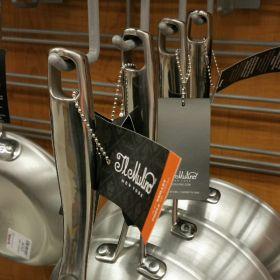 "beaded chain link, 6"", product merchandising fastener, BC-3CS"
