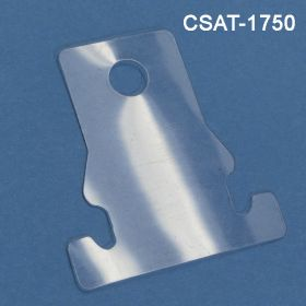 Clam Shell Adapter Hang Tab for Clip Strip Display, CSAT-1750