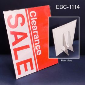economical easel back sign holder, EBC-1114