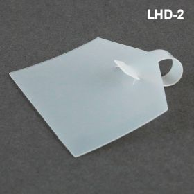 """label holder, 2.25"""" wide, wire fixture, lhd-2"""