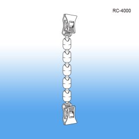Flexible Double Roto Clips - POP Clip on Sign Holders, RC-4000