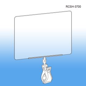 Roto Clips & Sign Holders - Print Protector / Sign holder RCSH-3700
