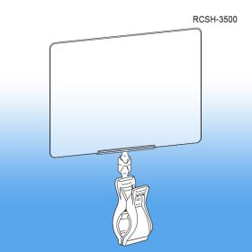 Roto Clips & Sign Holders - Print Protector / Sign Holder, RCSH-3500