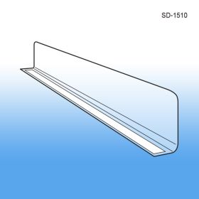 "1"" x 9-9/16"" Econo-Line Shelf Divider with Adhesive Mount, SD-1510"