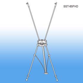 Speed Set Banner Stand Display - Floor Sign Holder, SST-65FHD
