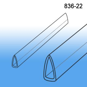 Clear Banner Hanger Stabilizer | Bottom Support | 22"