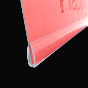 "Clear Banner Hanger Stabilizer | Bottom Support | 24"" Long 