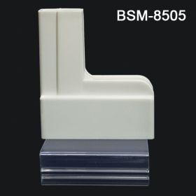 Clip-On Base gondola sign holder, BSM-8505