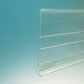"3"" C-Channel Price Channel, adhesine shelf molding, CC-300C"